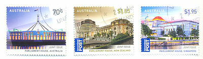 Australia-Singapore joint issue set mnh -2015