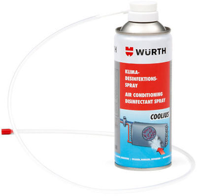 Wurth 089376410 Air Conditioning A/C Disinfectant Spray Cleaner 300 mL