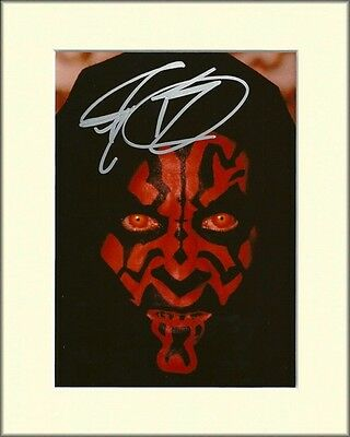 Ray Park Darth Maul Star Wars Pp Mounted 8X10 Signed Autograph Photo