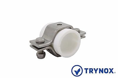 3A 4'' Sanitary Hex Tube Hanger / TPI Sleeve 304 Stainless Steel Trynox