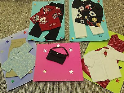 Handmade doll clothes set for Barbie and Ken dolls