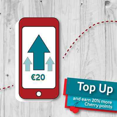 Vodafone Ireland 20€ Topup Transfer To Your Number Easy Way To Top Up