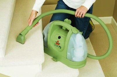 BISSELL Carpet Cleaner Little Green Multi-Purpose Compact Earth Friendly Deep