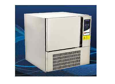 """OMCAN BC-IT-0103 24"""" Stainless Steel 3-Tray Blast Chiller Freezer made in Italy"""