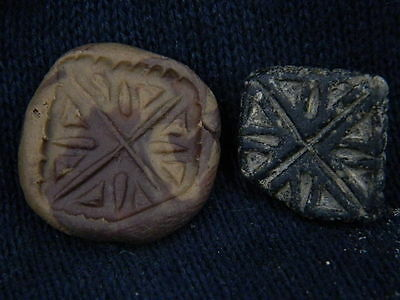 Ancient Steatite Seal Bactrian 300 BC   #GL1517 • CAD $50.40