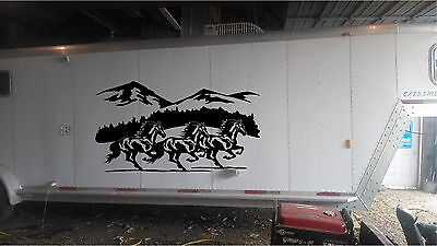 Summit Electric Trailer Vinyl Cut Decals