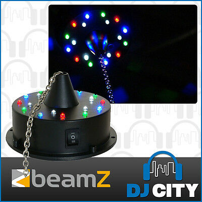 Beamz Mirror ball Motor with Built in LEDs - Battery Operated