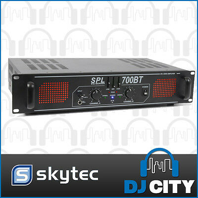 700 watt Power Amplifier with Bluetooth - Great for DJ's, Karaoke, Clubs and ...
