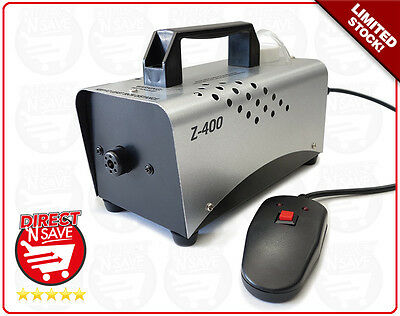 Smoke Fog Machine 400W L Z400. Projects up to 3.5m Refurbished Stock. REFURB