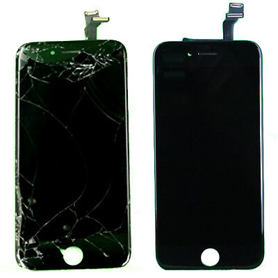 "Cracked Broken Glass LCD Digitizer Refurbish Service for iPhone 5.5"" 6 Plus"