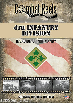4th Infantry Division: Normandy Invasion Combat Camera Film Footage Research DVD