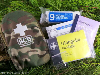Bcb Multicam Camouflage Personal First Aid Kit Bushcraft Survival Hiking Scouts