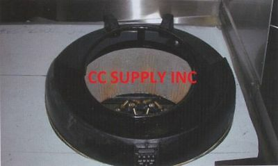 """Chinese wok Chamber reducer from 18"""" to 13"""" Heavy Steel Materials (WOK PARTS)"""