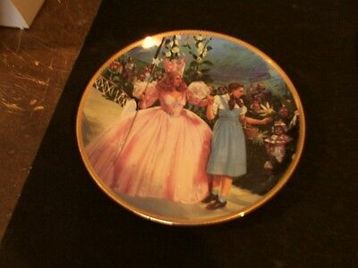 Wizard of OZ Collection 8-Plates Hamilton MGM Turner Toto Garland DVD VHS