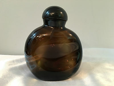 "Halston "" Z-14 Dummy"" Large Glass Cologne/perfume Bottle New York"