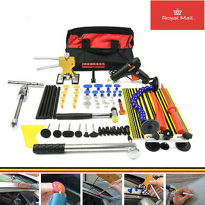 PDR Tools Kit Dent Lifter Slide Hammer Paintless Dent Car Dent Removal Tools