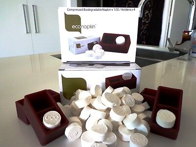 EcoNapkin The Eco Friendly Compressed Napkins Home Pack