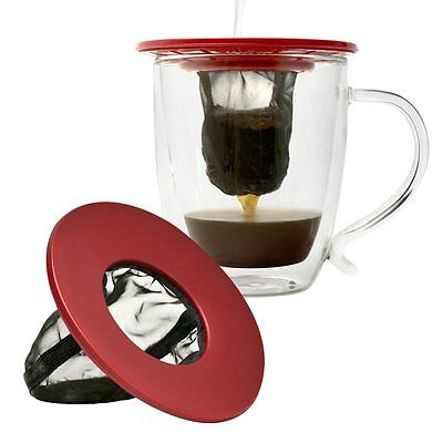 Primula Single Serve Coffee Brew Buddy - Nearly Universal Fit - Ideal for Travel
