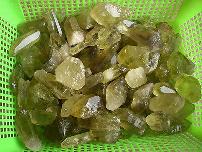 11LB NATURAL CITRINE QUARTZ CRYSTAL ORIGINAL ROUGH STONE Wholesales Price