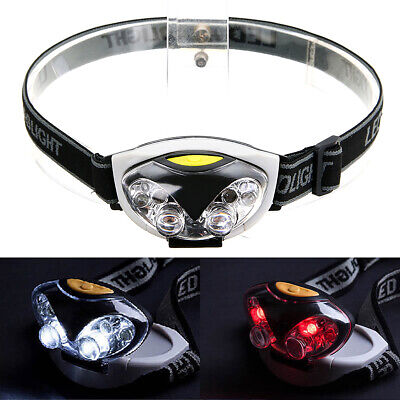 1200 Lm 6 LED Lights 3 Modes Headlight Headlamp flashlight head light lamp