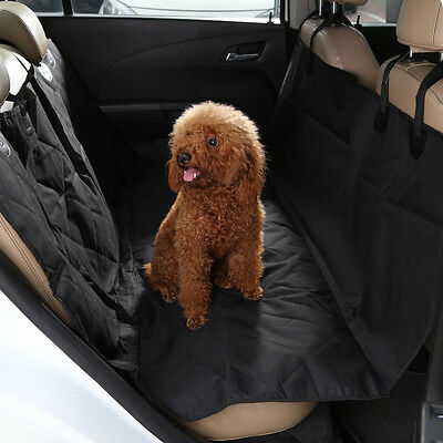 Large 2 in 1 Car Back Seat Cover Waterproof Pet Dog Protector Boot Mats Liner