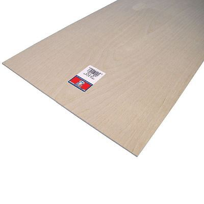 Plywood Sheet 0.3 x 30.5 x 61cm Birch Models Craft Painting Outdoor Indoor Wood