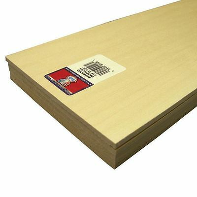 Basswood Sheet 0.5 x 15.24 x 61 cm Flexible Carving Painting Wood Model Projects