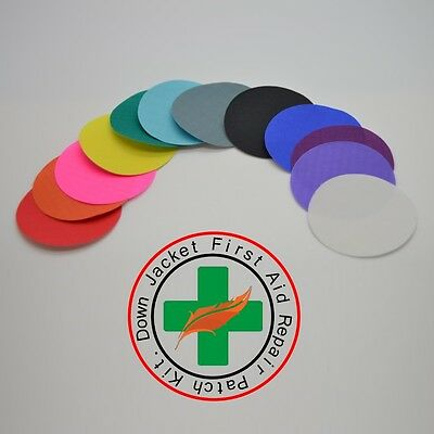 Repair Patches (Self Adhesive) for Down Jackets & Sleeping Bags & Ski Trousers