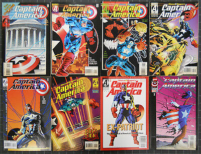 Steve Rogers Capt.america 1995 #444 To 454+Heroes Return #1 To 23 Comp. Nm Waid