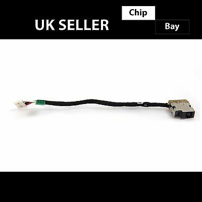 Genuine HP 14-AC 15-AC Series DC IN Jack Power Cable Charger Plug 799736-Y57