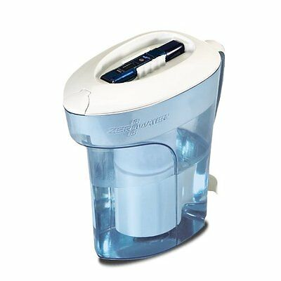 ZeroWater ZD-010 10 Cup Pitcher w/ Free TDS Meter