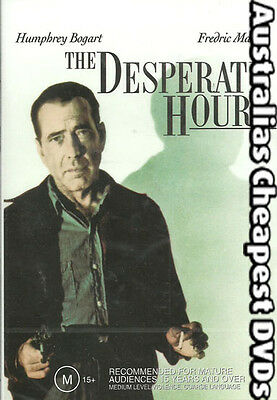 The Desperate Hours DVD NEW, FREE POSTAGE WITHIN AUSTRALIA REGION  4
