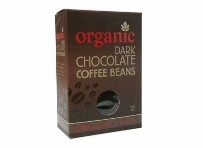 Organic Times Dark Chocolate & Coffee Beans 150g