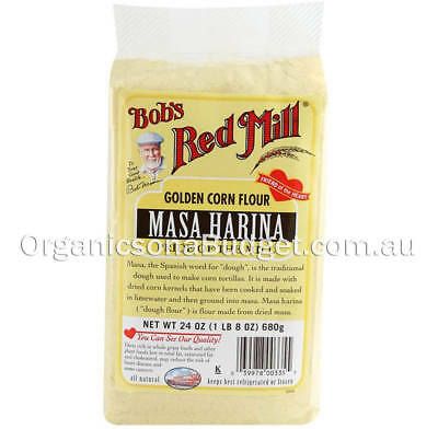 Bob's Red Mill Gluten Free Masa Harina (Golden Corn Flour) 680g