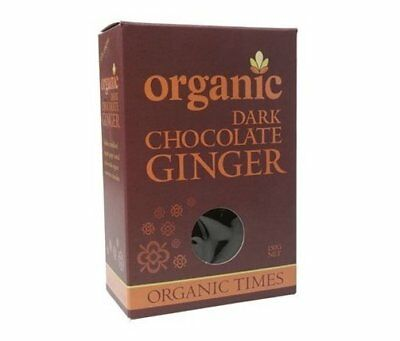 Organic Times Dark Chocolate & Ginger 150g