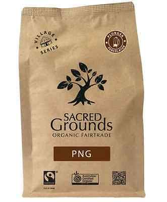 Sacred Grounds Organic Fairtrade Coffee PNG Blend (Plunger) 250g