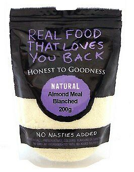 Honest To Goodness Almond Meal Natural Blanched 200g