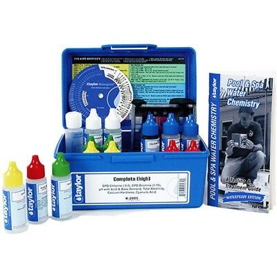 Taylor 2005 Professional Complete Test Kit for Chlorine DPD K-2005-6