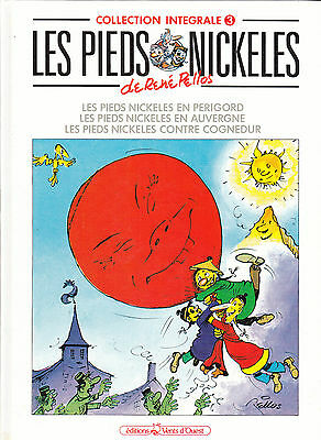 Les Pieds Nickeles / Collection Integrale / Rene Pellos /  Tome 3