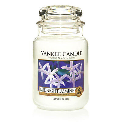 Yankee Candle Midnight Jasmine Large Jar Scented Candle