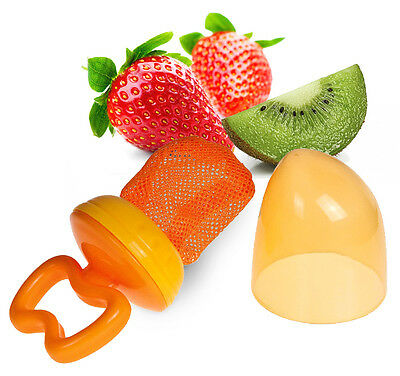 BABY FOOD TEETHER CANPOL 56/105 Cap Feeder Fruit Vegetable Safe Silicone Net .