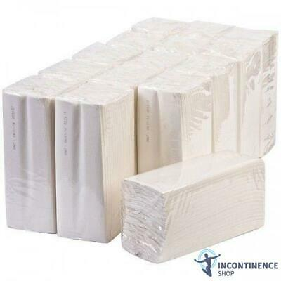 Luxury Quality Multi Fold C Fold Paper Hand Towels White 2 Ply - Case of 2400