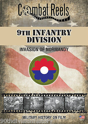 9th Infantry Division Normandy Invasion Combat Camera Film Footage Research DVD