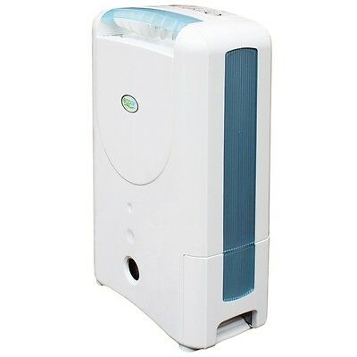 EcoAir DD122 Classic MK5 Desiccant Dehumidifier with Ioniser and Silver Filte...