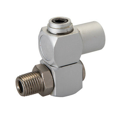 "Swivel Joint Air Line Connector 1/4"" B.S.P Male Female Fitting FREE POST 427601"