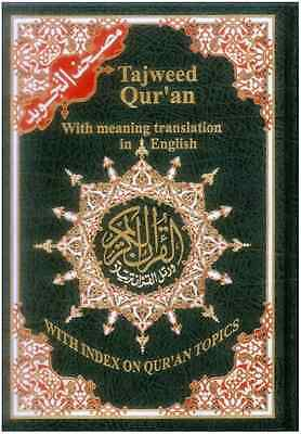 Tajweed Quran Colour Coded with Meanings Translation in English