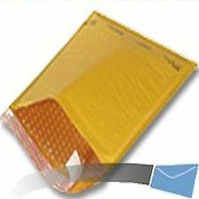 100 #2 8.5x12 Kraft Bubble Mailer Envelope Shipping Sealed Air Paper Mailing