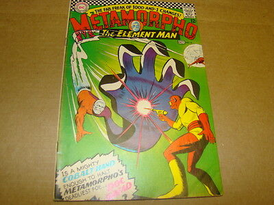 Metamorpho The Element Man #8 DC Comics Silver Age 1960's