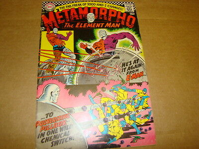 Metamorpho The Element Man #11 DC Comics Silver Age 1960's