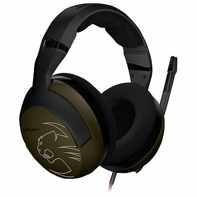ROCCAT KAVE XTD Stereo Military Edition Premium Gaming Headset -- Desert Strike